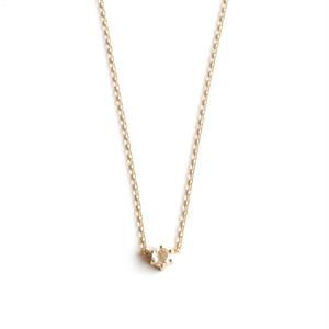 sowi:ソーイ 《ローズカットネックレス K18YG ネックレス》ダイヤモンド/ネックレス