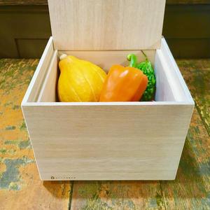 桐箱 野菜保存箱 S