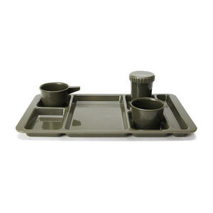 "Camper Tray Set ""Olive drab"""