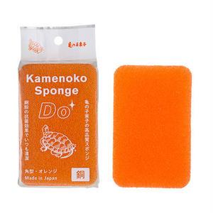 亀の子スポンジ Do 角型 orange