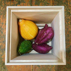 桐箱 野菜保存箱 L