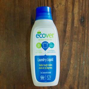 ecover 洗濯用液体洗剤 濃縮タイプ 750ml