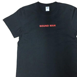 World One【SOUND MAN TEE 】(BLK/RED)