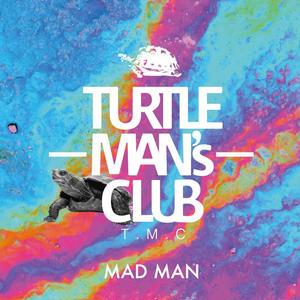 TURTLE MAN's CLUB/MAD MAN (JUNGLE, DUB STEP, BASS MUSIC MIX CD)WEB限定ステッカー付