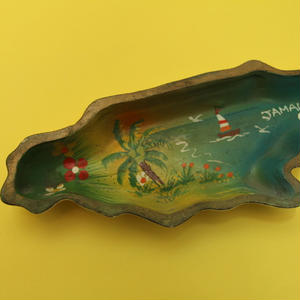 ジャマイカ 島型 小皿、アクセサリー、小物入れ