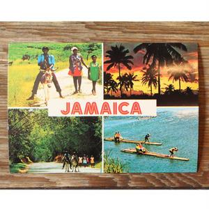 JAMAICA レアポストカード デッドストック