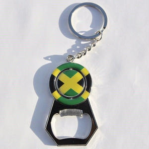 ジャマイカ直輸入 栓抜きキーホルダー JAMAICA