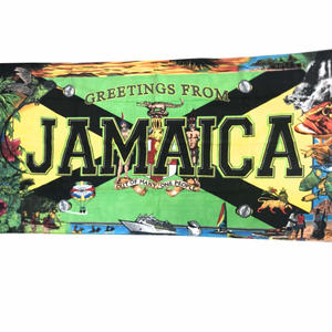 夏本番!無くなり次第終了!ジャマイカ特大バスタオル  JAMAICA 国章 ライオン等