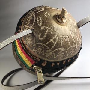ジャマイカ直輸入  ハンドメイド カラバッシュ バッグ