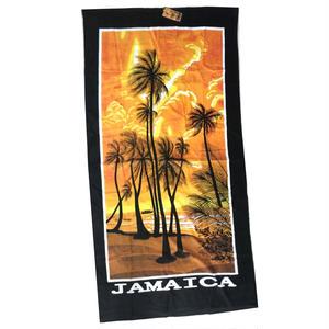 無くなり次第終了!ジャマイカ特大バスタオル  JAMAICA 夕日