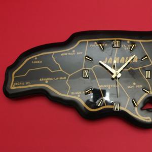 ジャマイカ島型 壁掛け時計