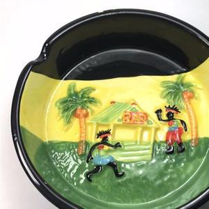 ジャマイカ直輸入 ヤシの木 BAR ラスタ ジャマイカカラー  灰皿
