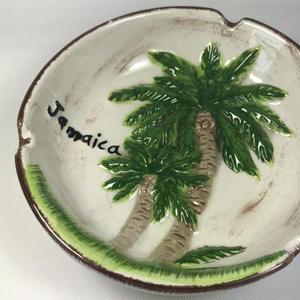 ジャマイカ直輸入 ヤシの木  灰皿