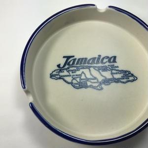 ジャマイカ直輸入!ジャマイカ地図、JAMAICA 灰皿