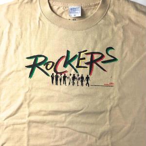 映画 ROCKERS  OFFICIAL T-SHIRTS (ベージュ)RIDDIM/OVER HEAT