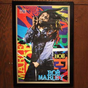 BOB MARLEY デッドストック ポスター オフィシャル  カラフル