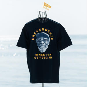 JUNYA S -STEADY/ JAMAICA JAMAICA T-SHIRTS (BLACK)