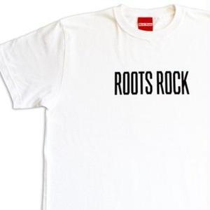 デッドストック レア「ROOTS ROCK  - HISTORY OF JAMAICAN MUSIC TEE-」  缶バッチ付き