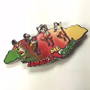 ジャマイカ直輸入!珍しい石製のJAMAICAマグネット!