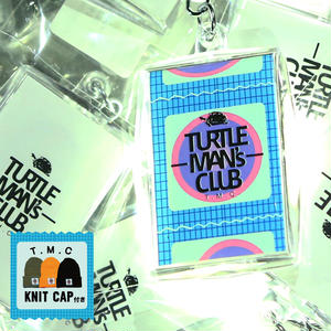 TURTLE MAN'S CLUB KEYRING [コンドーム入り]KNIT CAP付き