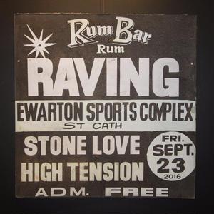 ジャマイカイベントサイン(イベント告知ボード)RUM BARイベント RAVING[STONE LOVE]