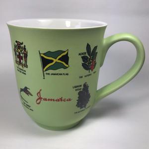 ジャマイカ直輸入 マグカップ「JAMAICA 柄」