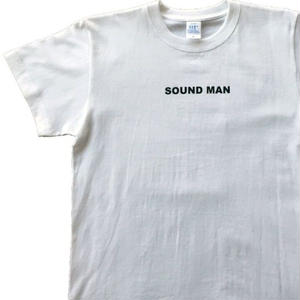 World One【SOUND MAN TEE 】(WHT/BLK)
