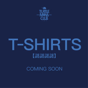 TURTLE MAN's CLUB T-SHIRTS   [NAVY/LIGHT BLUE] 【 謎謎謎謎 】予約開始