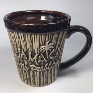 ジャマイカ直輸入 ウッドテイスト JAMAICA NO PROBLEM マグカップ