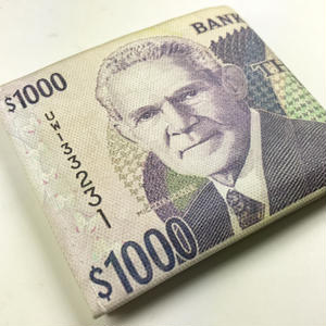 再入荷!ジャマイカ直輸入!ジャマイカ1000ドルがプリントされた財布