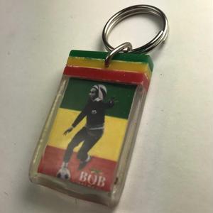 ジャマイカ直輸入 アーティスト キーホルダー BOB MARLEY