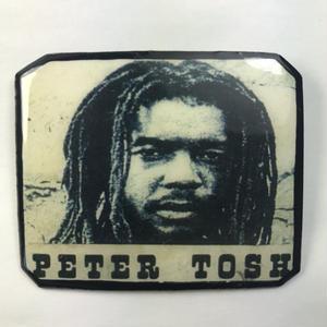 ジャマイカ直輸入  PETER TOSH ハンドメイドバッチ