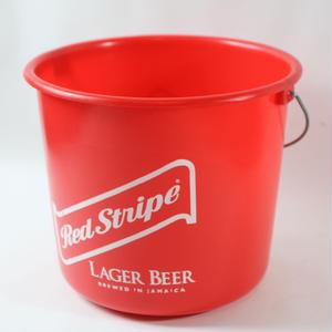 再入荷!ジャマイカ直輸入  RED STRIPE プラスチックバケツ(現地非売品)