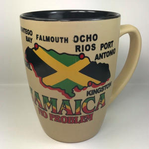 ジャマイカ マグカップ「JAMAICA 柄」