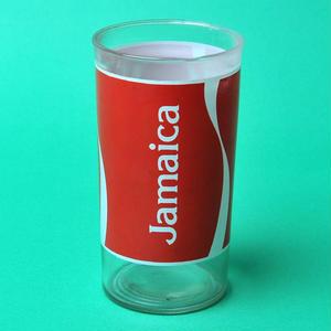 ジャマイカ コカコーラ ガラスコップ(当時非売品)