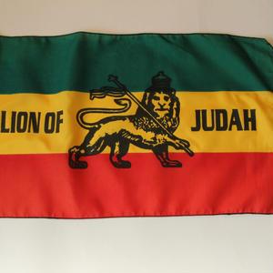 ジャマイカ ラスタカラー フラッグ LION OF JUDAH