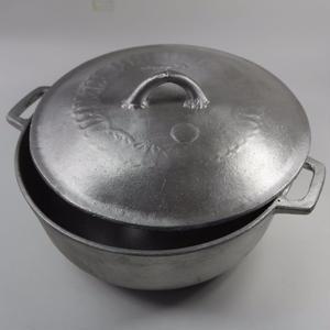 ジャマイカ直輸入  全ジャンル対応 鉄製なべ