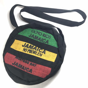 ジャマイカ直輸入  サークル ヘンプ ジャマイカバッグ