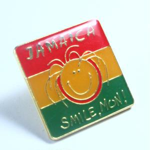 ジャマイカ直輸入 レアデッドストックピンバッチ(TURTLE MAN's CLUB MARKETオリジナルパッケージ)