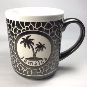 ジャマイカ直輸入 JAMAICA ヤシの木 石壁風 マグカップ