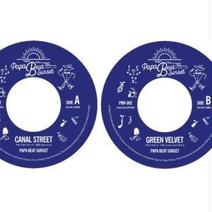 PAPA B (PAPA B & beat sunset)「CANAL STREET(A)  GREEN VELVET(B)」【予約】
