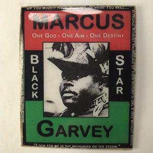 ジャマイカ直輸入 Marcus  Garvey ハンドメイドバッチ