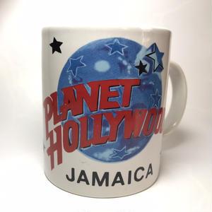 ジャマイカ マグカップ「PLANET HOLLYWOOD-JAMAICA-」デッドストック