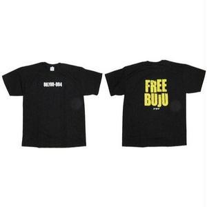 デッドストック 激レア 1枚限定「FREE BUJU 86700-004」 OFFICIAL TEE(L)