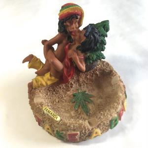 ジャマイカ直輸入 ラスタマン 灰皿