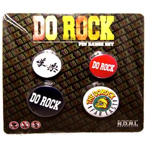 導楽「DO ROCK オリジナル缶バッチセット」