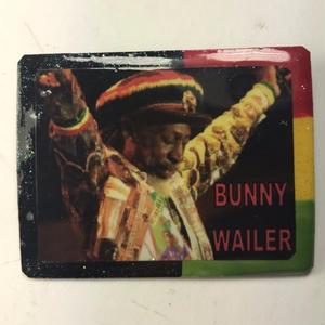 ジャマイカ直輸入  BUNNY WAILER ハンドメイドバッチ