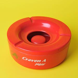 ジャマイカ産タバコ「CRAVEN A」のビンテージ灰皿