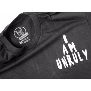 "UNRULY T-SHIRTS  "" I AM UNRULY"" BLACK 数量限定【UNRULY WEAR】"