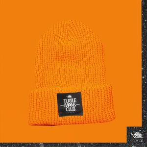 ORANGE KNIT CAP【TURTLE MAN'S CLUB】